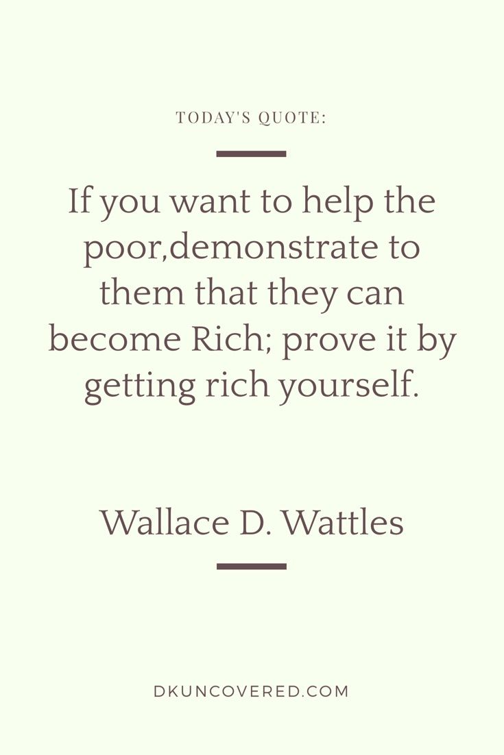 Quote From The Book The Science Of Getting Rich Quotes