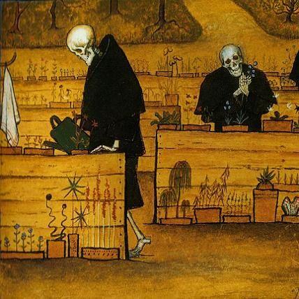 Hugo Simberg, The Garden of Death