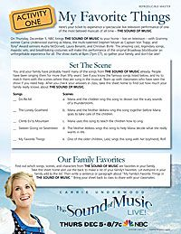 The Sound of Music Lesson Plans   ymiclassroom.com