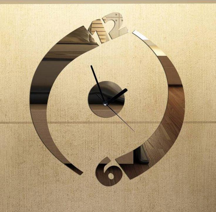 36 best CLOCK DESIGNS images on Pinterest | Diy clock, Wall clocks ...
