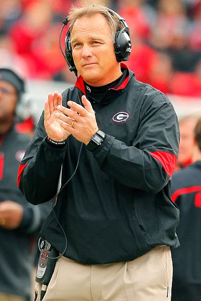 Coach Mark Richt, University of Georgia