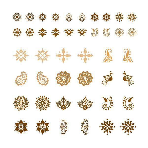 Henna Tattoo In Little India Singapore: Tattoo Idea/little Henna Design Samples