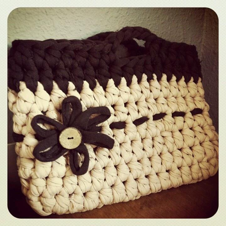 Crochet XXL bag - Bolso de trapillo
