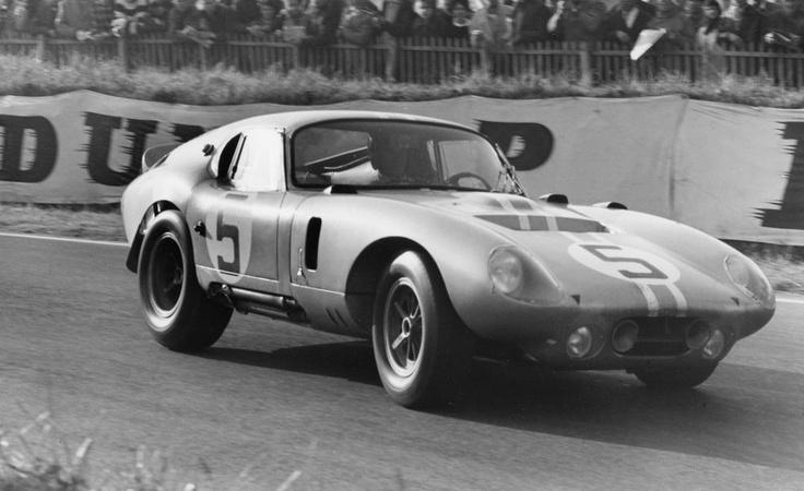 Shelby Daytona Coupe at Le Mans 1964 photo