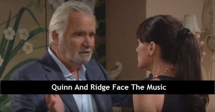 """""""The Bold and the Beautiful"""" spoilers for Thursday, July 6, tease that Eric (John McCook) will let out all his rage. Ridge (Thorsten Kaye) and Quinn's (Rena Sofer) actions have obviously hurt Eric deeply. He's not sure what he's supposed to do now that he knows they've been deceiving him."""