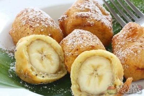 Receita de Banana à milanesa - Comida e Receitas