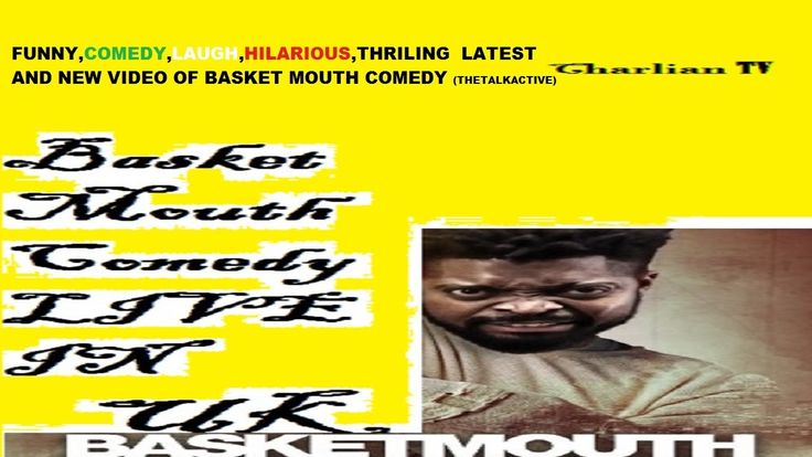 THIS FUNNY COMEDY JOKE VIDEO OF BASKET MOUTH GOT 75YRS OLD WOMAN LAUGHIN...