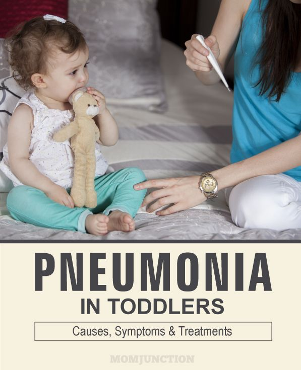 Pneumonia In Toddlers - Causes, Symptoms & Treatments