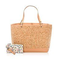 Thirty One Style Setter Tote - 6127 - in Cork #thirty #one #cork #bag