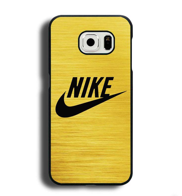 NIKE Swoosh Gold Logo Case for Samsung Galaxy S6 / Edge / + S7 Cases iPhone iPod #UnbrandedGeneric