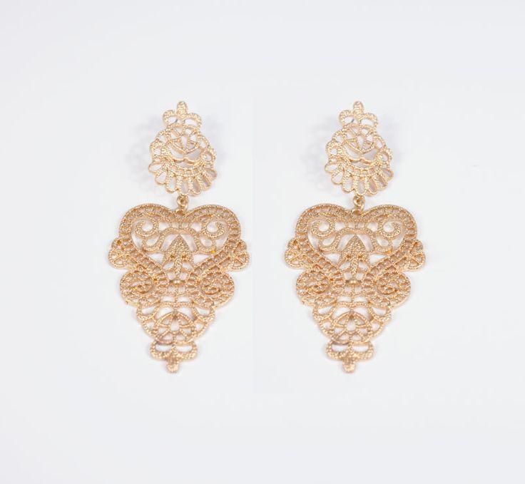 Oriental Cut-Out Earrings for € 19,90 - Golden Eight