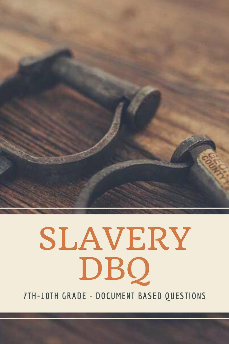 Slavery Dbq Slavery Lesson Dbq Slavery [ 1102 x 735 Pixel ]