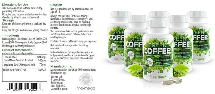 Green coffee pure Uk