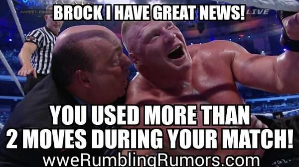 We still hold a grudge against #BrockLesnar for Breaking the streak lol  More Wrestling memes @ www.wweRumblingRumors.com  #WWE #Brock #Lesnar #JohnCena #Cena #NightOfChampions #Cenation #Wrestling #FANS #cHAMPIONS #WORLD #NEWS #SPORTS #FRIDAY #SUNDAY