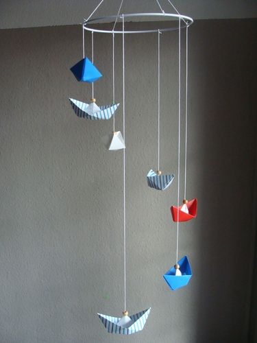 Mobile Origami *Boote* Maritim