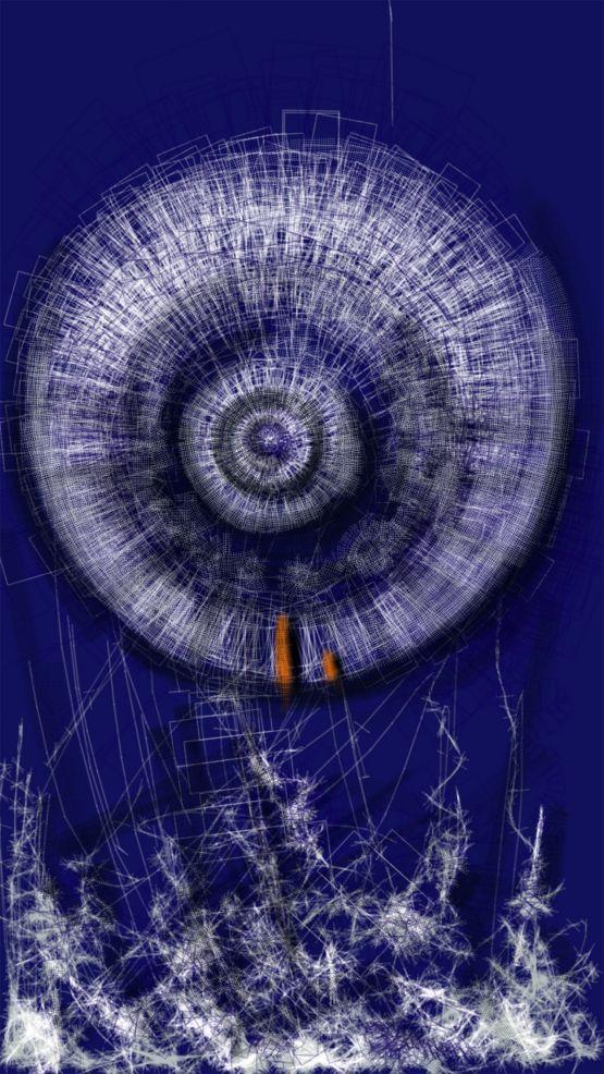 Soyut - 2, Dijital C-Tipi Baskı by Mustafa Demirpençe | Gallerymak