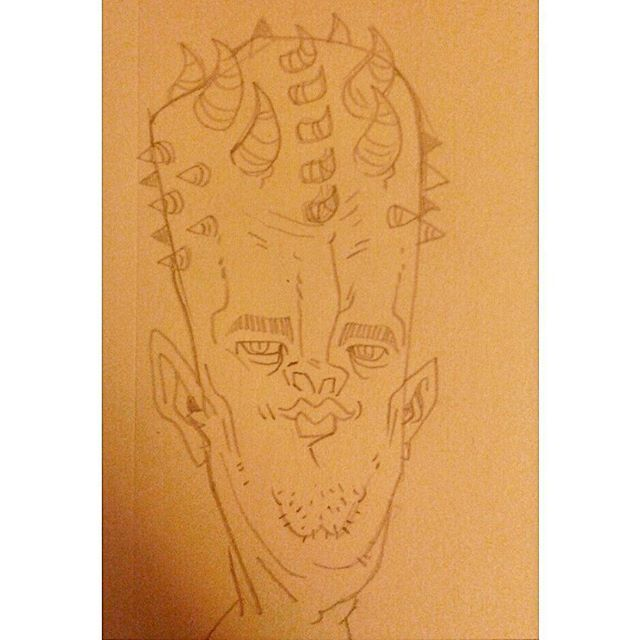 #kenny_poppins #dailydoodle #drawing #pencil #face #weird #sketchbook