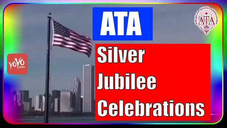 American Telugu Association (ATA) Silver Jubilee Celebrations Official I...