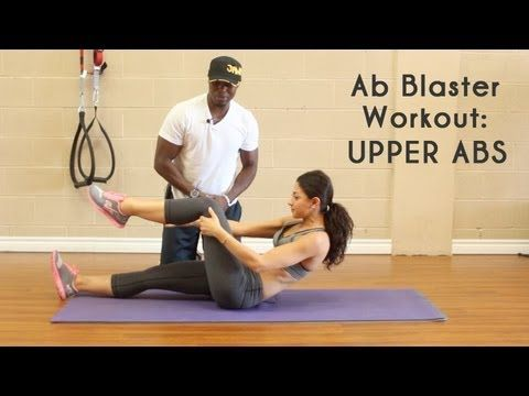 Ab Blaster Workout: Upper Abs - GetFitWithLeyla - YouTube
