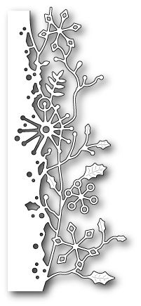 Memory Box FROSTED VINE BORDER Craft Die 98993