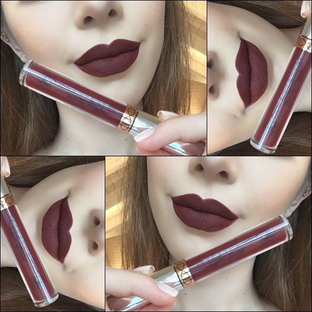 ✖️ Products✖️ #Wetnwild  Coloricon Lipliner/Chestnut/Marron #AnastasiaBeverlyHills Liquid Lipstick/Heathers