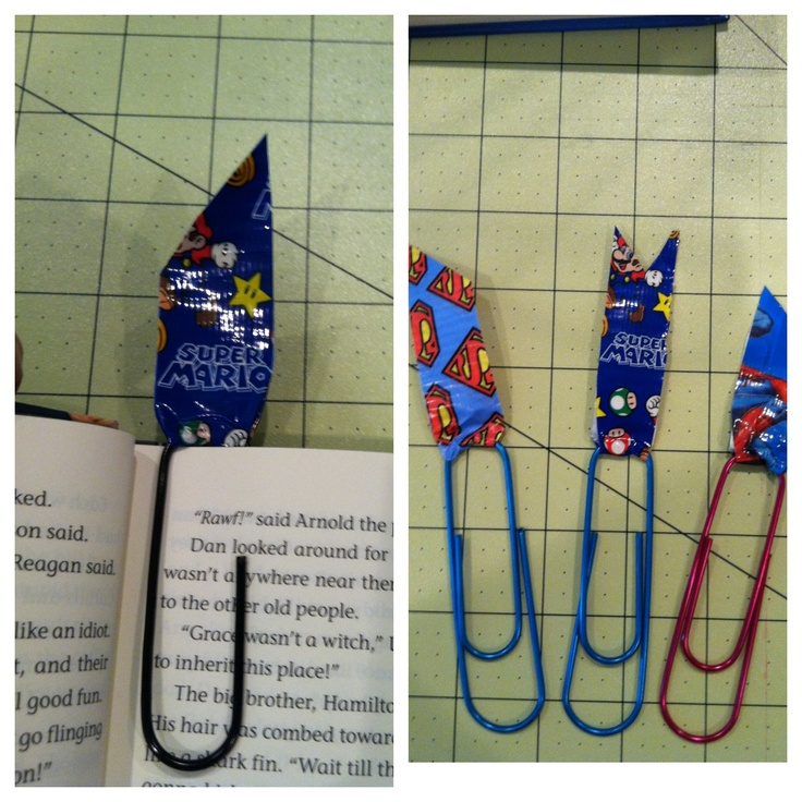 As 25 melhores ideias de duct tape bookmarks no pinterest for Duct tape bookmark ideas
