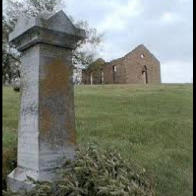 Stull, Kansas founded in 1885 is a small unincorporated town said to be one of the seven gates to hell, apparently there are 7 gates located across America. Legend has it the cemetary becomes one of the seven every halloween.