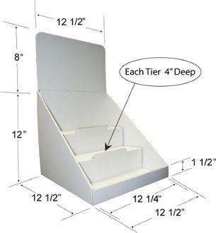 Item #: 8031 Cardboard display