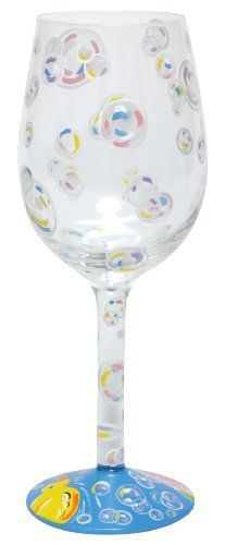 Lolita Love My Wine Glass, Bubble Bath by Santa Barbara Design Studio Kitchen. Save 4 Off!. $25.00. Lolita licensed hand painted wine glass with bubble bath wine cooler recipe on the bottom of the stem. Holds 15-ounces; wine, wine cocktail or juice, holds even candy- don't limit the possibilities because they are endless..... Each glass is carefully hand painted; the vibrant colors and embellishments are applied with meticulous detail. Hand washing is recommended. Glasses ship in lolita's…