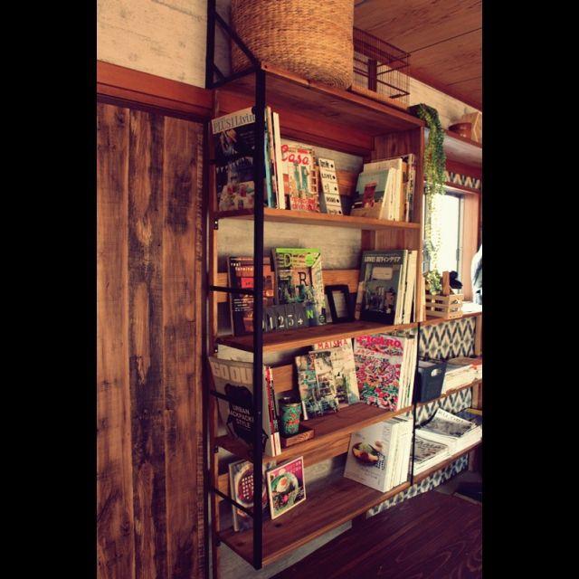 手作り家具/セルフリフォーム/図書音楽室/棚のインテリア実例 - 2015-01-06 16:16:09 | RoomClip(ルームクリップ)