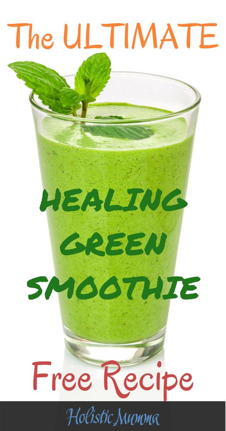 Join the Green Smoothie Challenge! #greensmoothie #healing #HolisticMumma