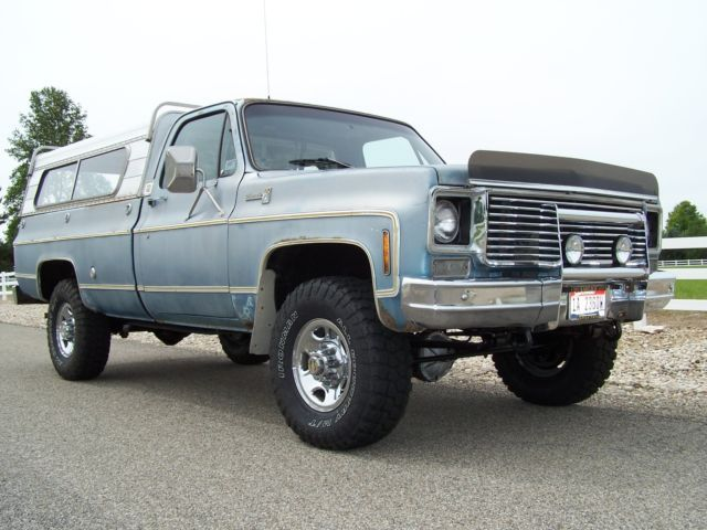 1977 Chevy GMC K20 Silverado 4x4 One Owner Low Miles 400