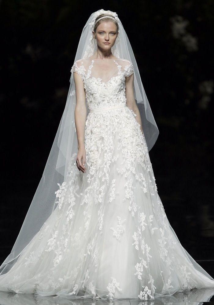 Mejores 229 imágenes de Elie Saab en Pinterest | Vestidos de novia ...