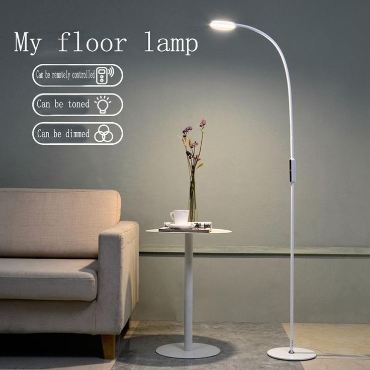 FREE SHIPPING LED Floor Lamp 9W 5-Level Brightness Touch Switch- Modern Contemporary Light for Living Room Bedroom Office Reading Piano Lamp