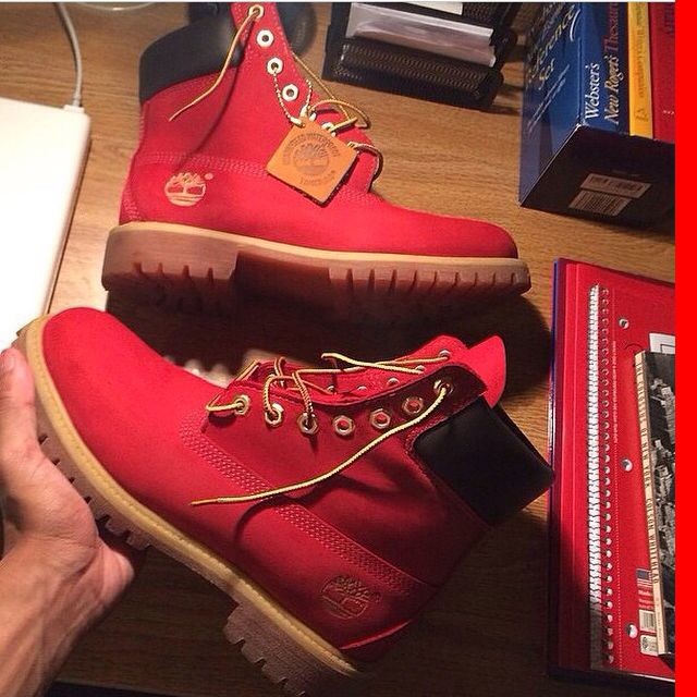 Red Timbs......I NEED these!!! ~M.