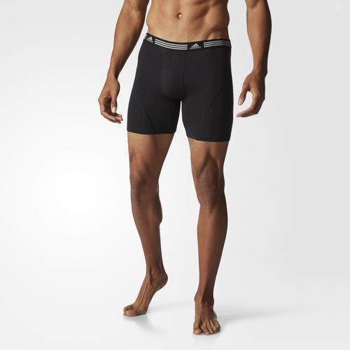 adidas - Athletic Stretch Boxer Briefs 2-Pack