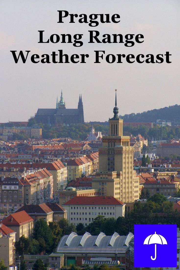 #Prague Long Range #Weather Forecast.  30 days and beyond.  Plan your #Vacation, #Travel, #Honeymoon, #Wedding, #Holiday now.