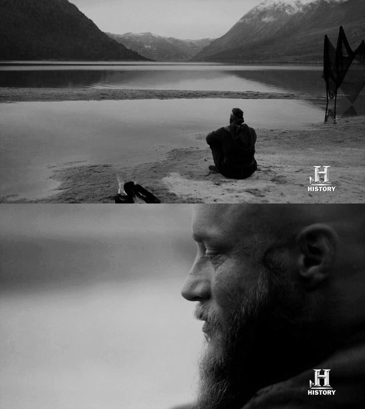 """Dear child, Gyda, you are not gone because you are always in my heart. They say that a man must love his sons more but a man can be jealous of his sons and his daughter can always be the light of his life.""- Ragnar Lothbrok"