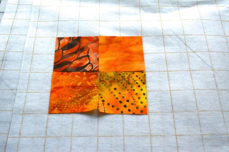 Watercolor Quilt Tutorial - Part 1