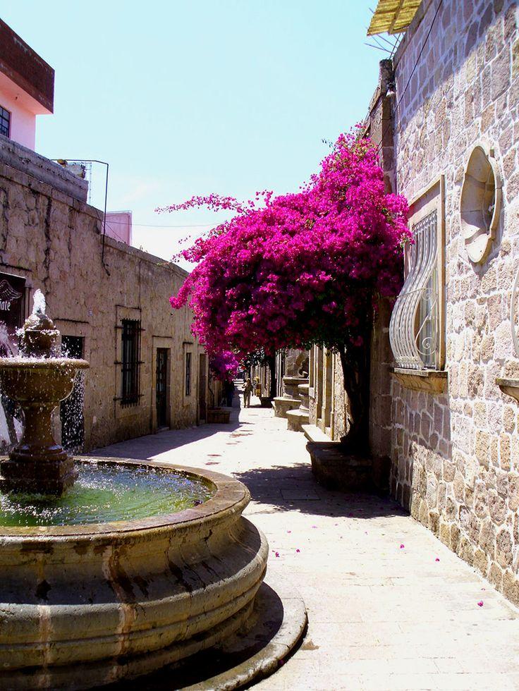 Callejón Del Romance #Morelia, un lugar para caminar de la mano a lo largo de este callejón con tu novio o novia, como si fuera de película no crees?
