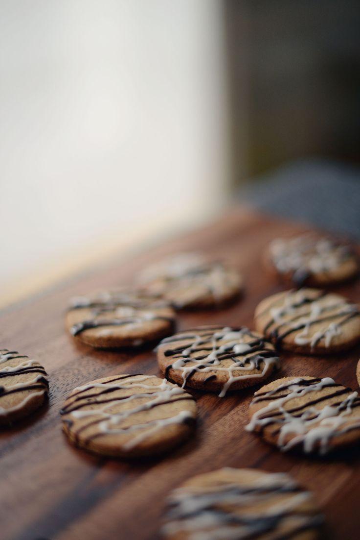 Biscuits zébrés à la noisette (sans gluten / sans lactose) | vanessa pouzet le blog