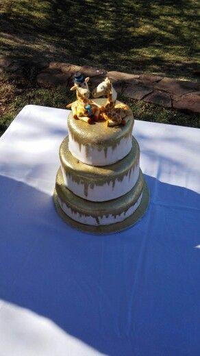 Diana's wedding cake
