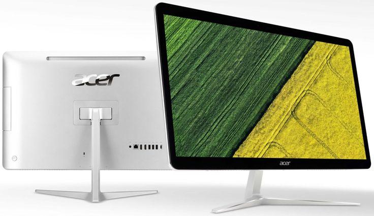 Segment desktopów AiO wciąż ma się świetnie, co potwierdzają nowe modele Acera. 23,8- i 27-calowe komputery wyposażono w najnowsze procesory Intela, mnóstwo RAMu i wydajne dyski SSD. Czym jeszcze mają się wyróżniać?