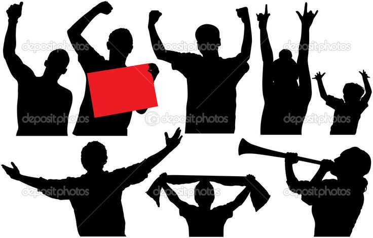 depositphotos_30414657-Cheering-crowd-or-sports-fans-silhouettes.-Raster-version.jpg (1023×654)