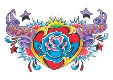 Mom Dad Heart Tattoo