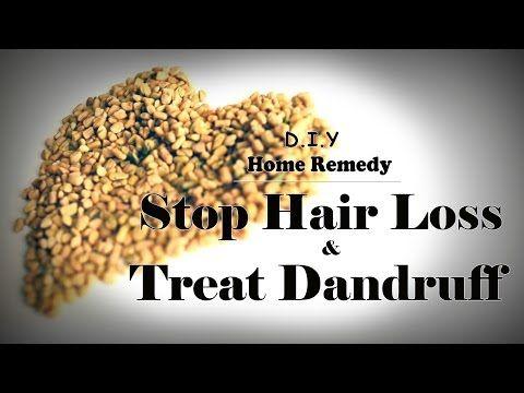 DIY Hair Mask - At Home Treatment To Stop Hair Loss and Treat Dandruff - YouTube