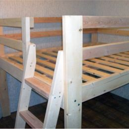 Free Woodworking Plans to Build a Full Sized Low Loft Bunk | The Design Confidential