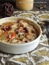 Découvrez la recette Cassolettes de langoustines et noix de saint-jacques au citron sur cuisineactuelle.fr.