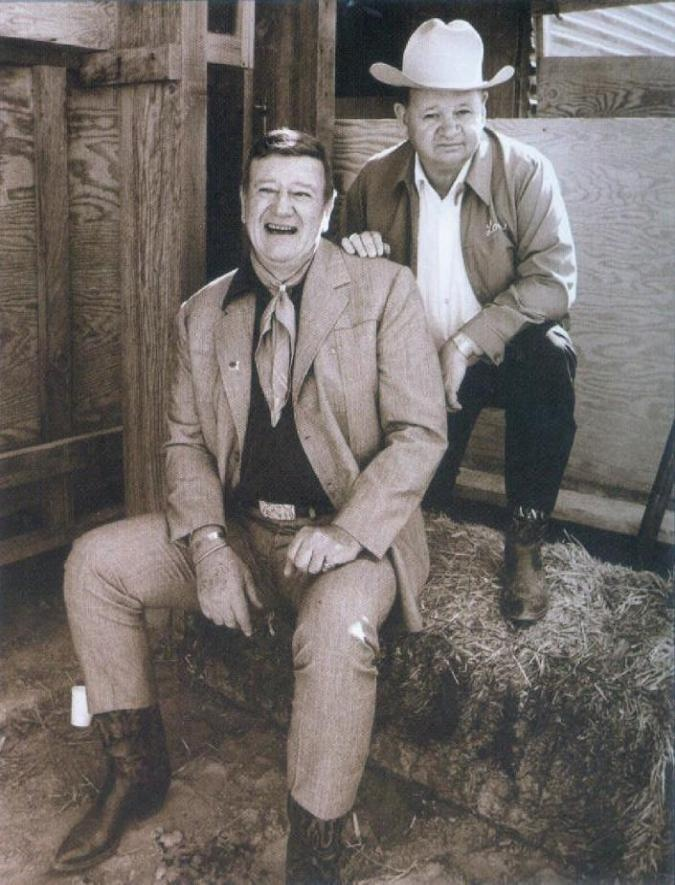 JOHN WAYNE AND HIS PARTNER