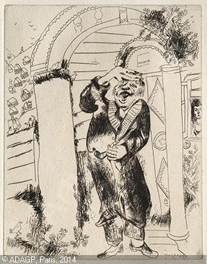 CHAGALL Marc - Nicolas Gogol. Les Ames mortes, (2)
